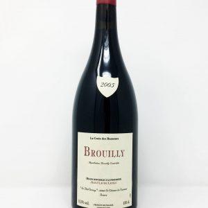 J.C. Lapalu, La Croix des Rameaux, Brouilly MAGNUM