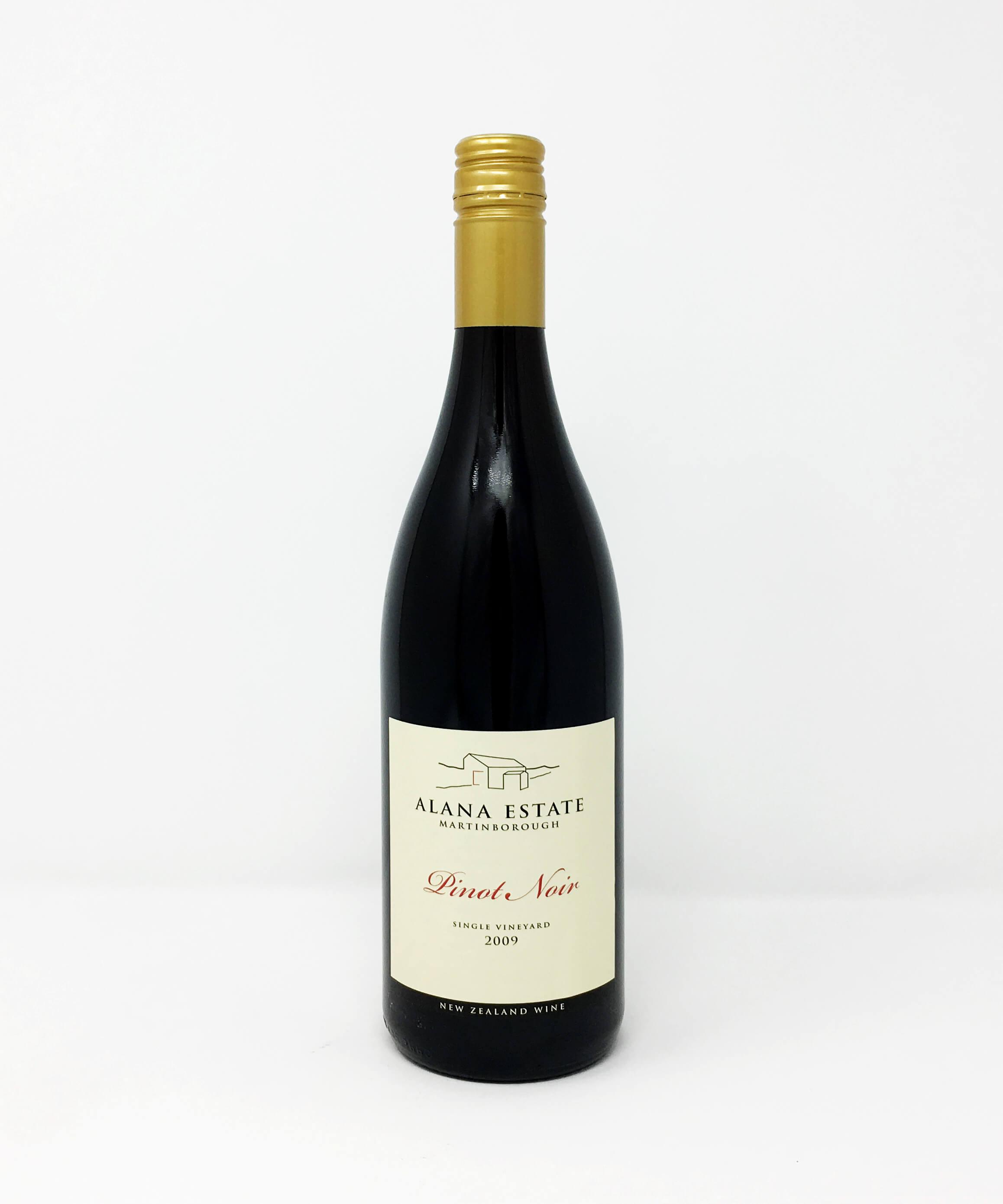 Alana Estate, Single Vineyard, Pinot Noir