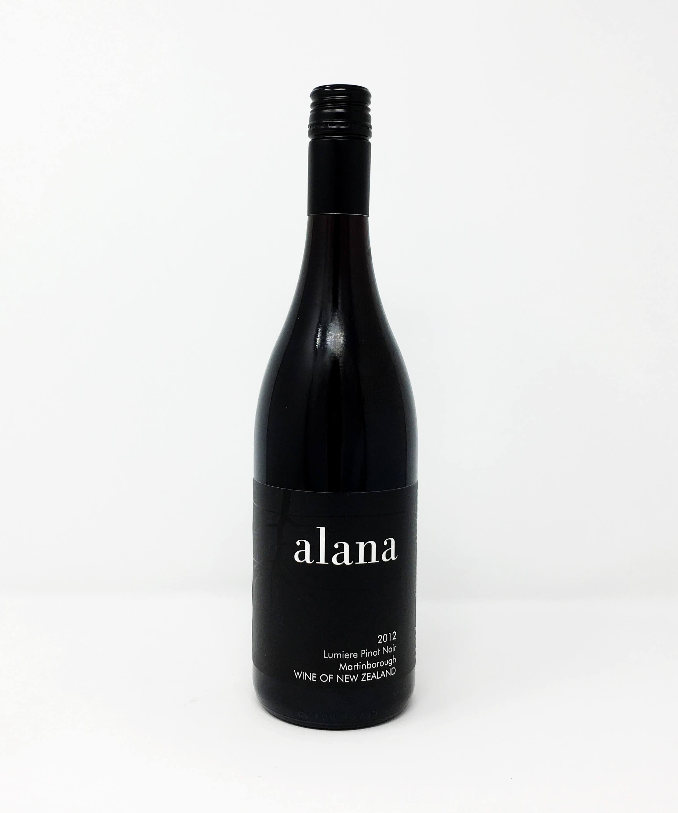Alana Estate, Lumiere, Pinot Noir