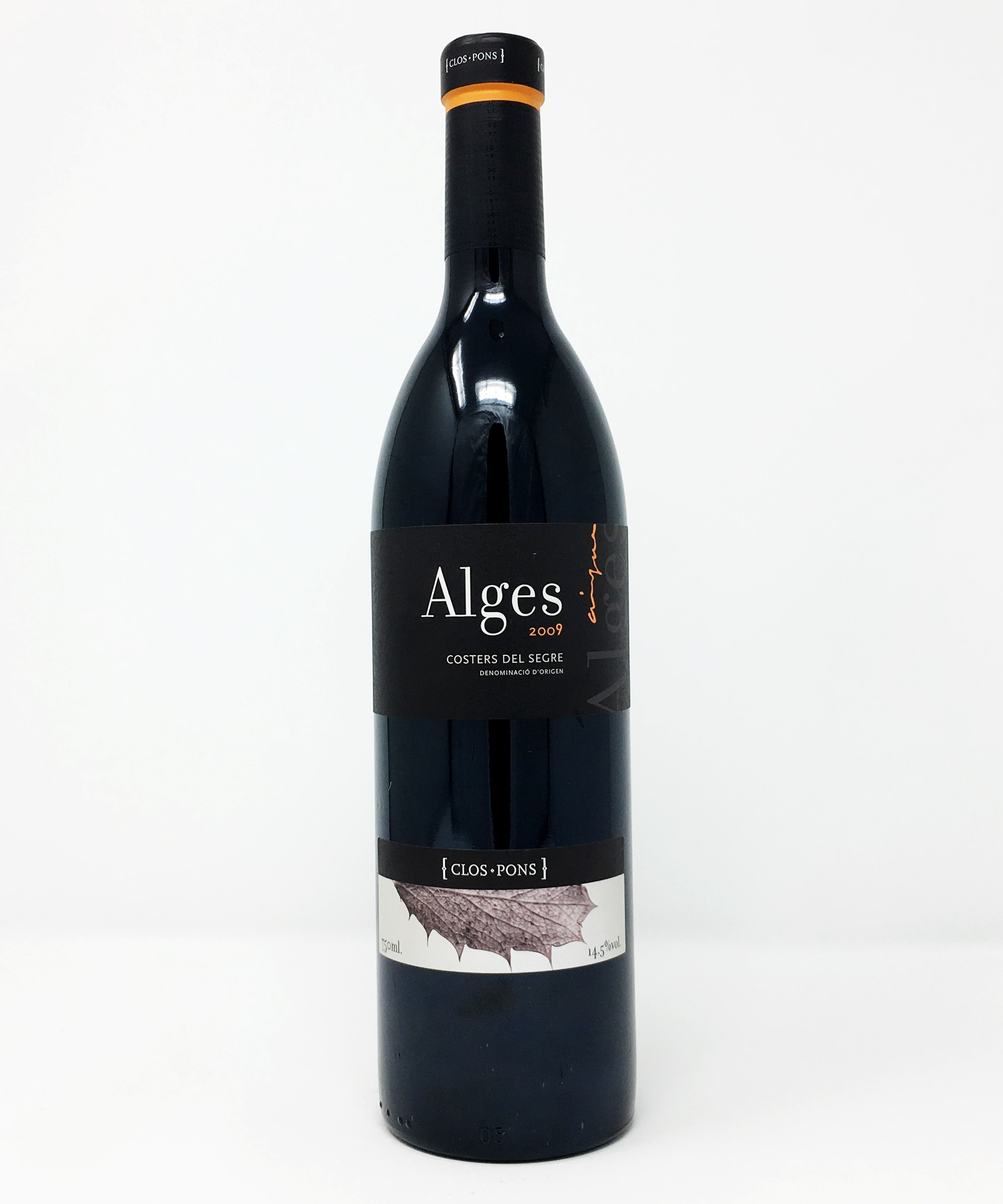 Celler Clos Pons, Alges