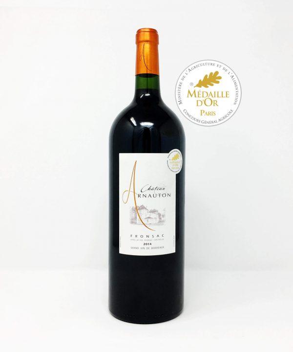 Chateau Arnauton, Fronsac, Gran Vin De Bordeaux MAGNUM