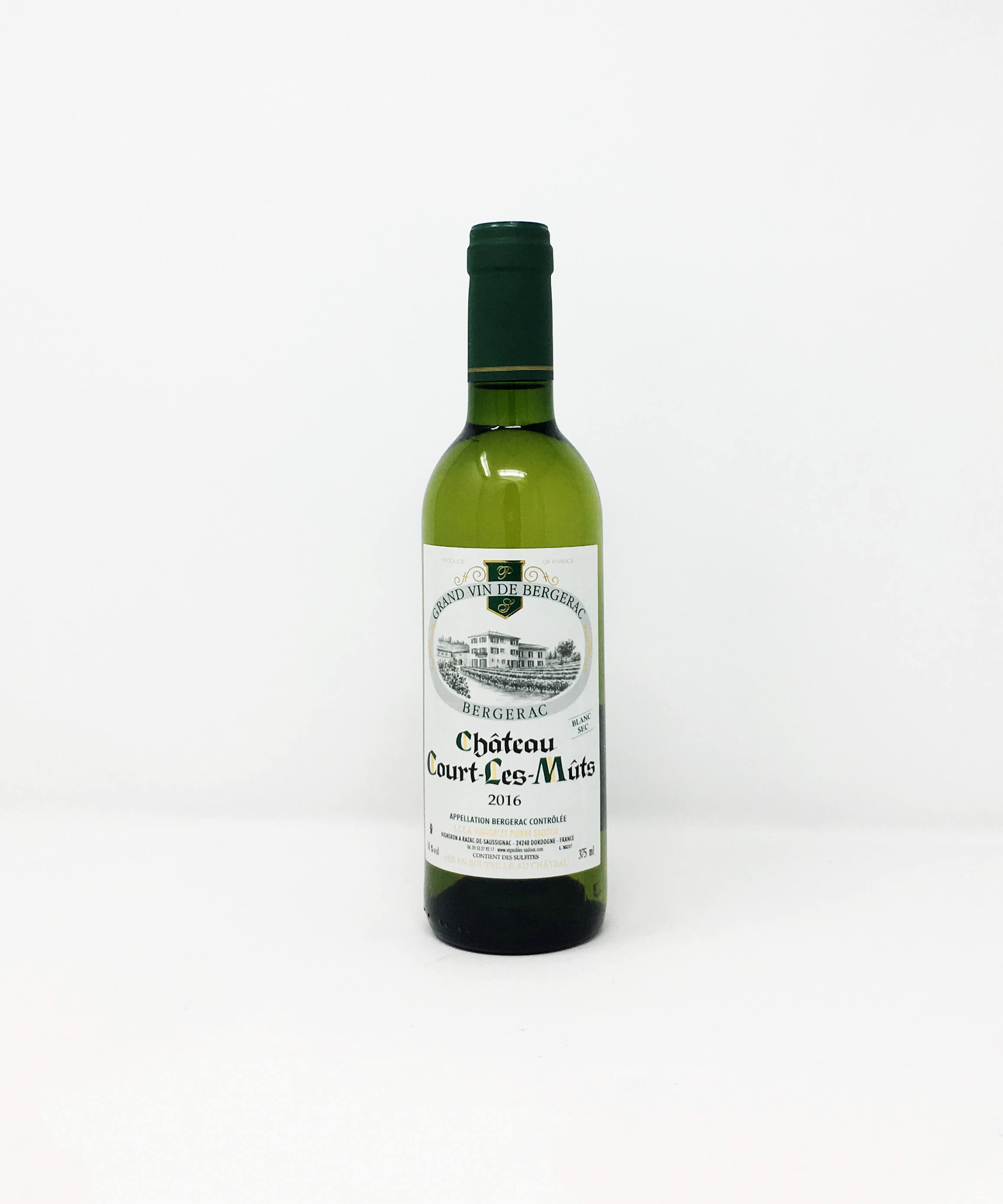 Chateau Court Les-Muts Blanc Sec HALF BOTTLE