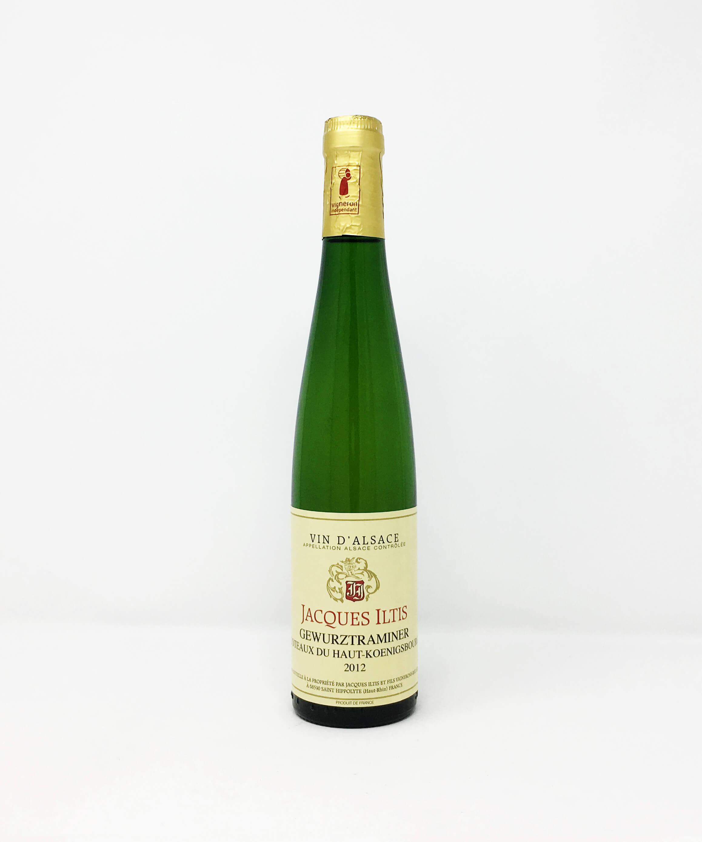 Jacques Iltis, Gewurztraminer, Coteaux Du Haut-Koenigsbourg HALF BOTTLE