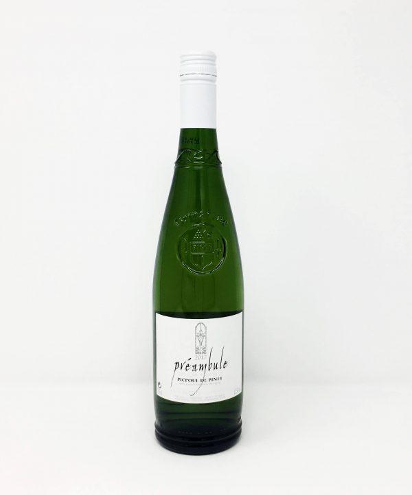 Ormarine, Prembule, Picpoul De Pinet
