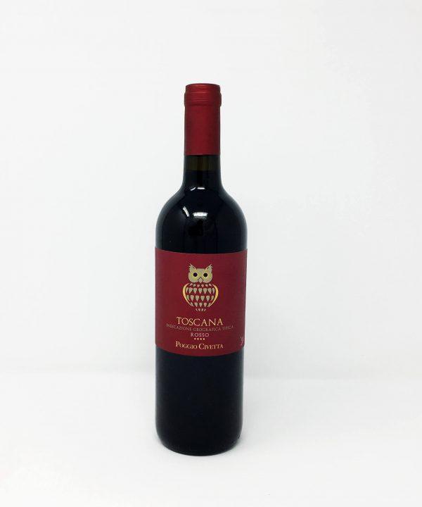 Poggio Civetta, Toscana Rosso