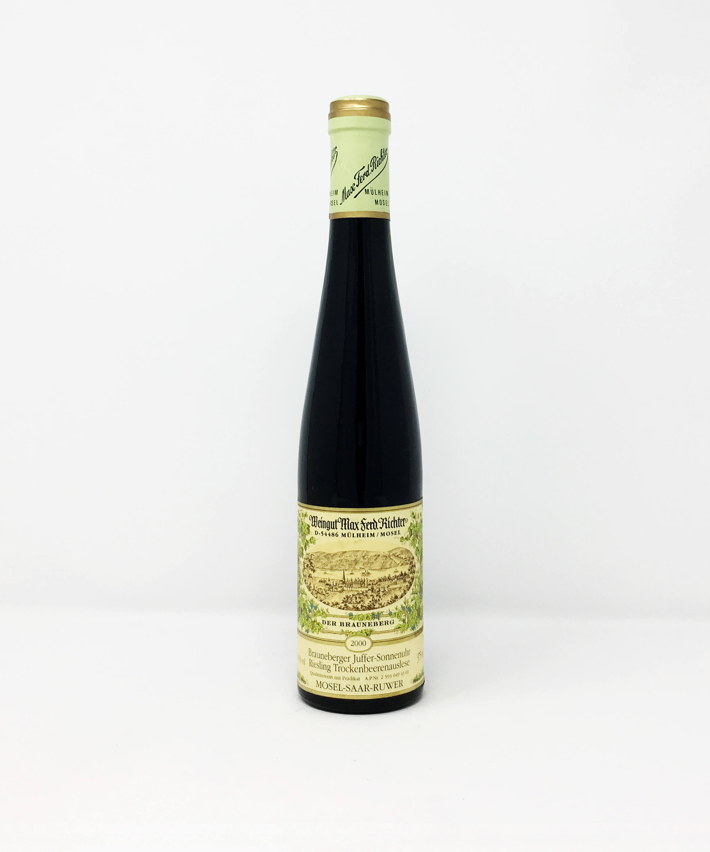 Weingut Max Ferd. Richter, Brauneberger Juffer-Sonnenuhr, Trockenbeerenauslese HALF BOTTLE