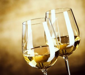 Chablis wine is a dry white wine