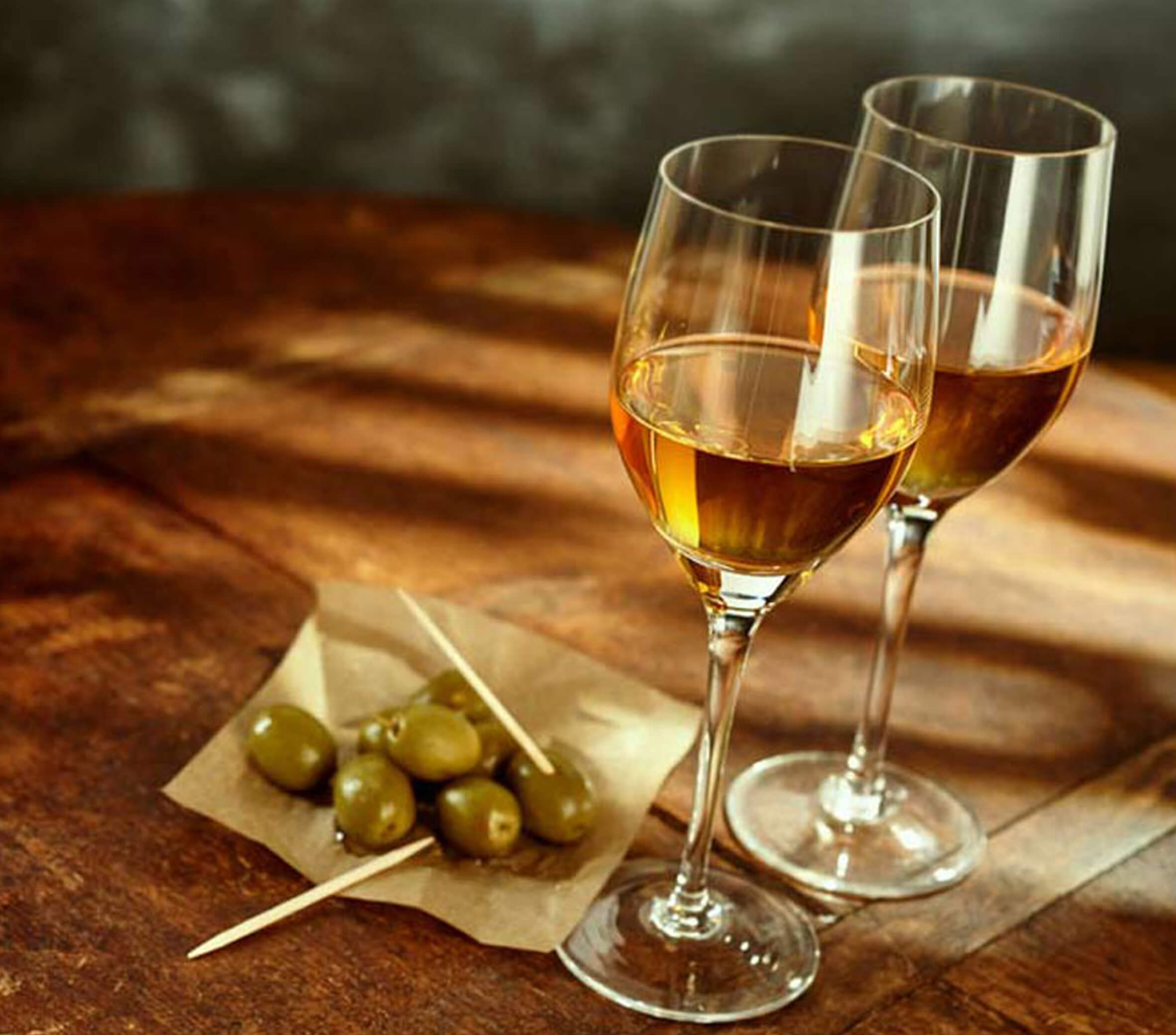 White Manzanilla wines have a taste of chamomile