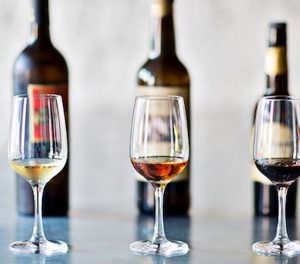 Sherry is part of the White wines