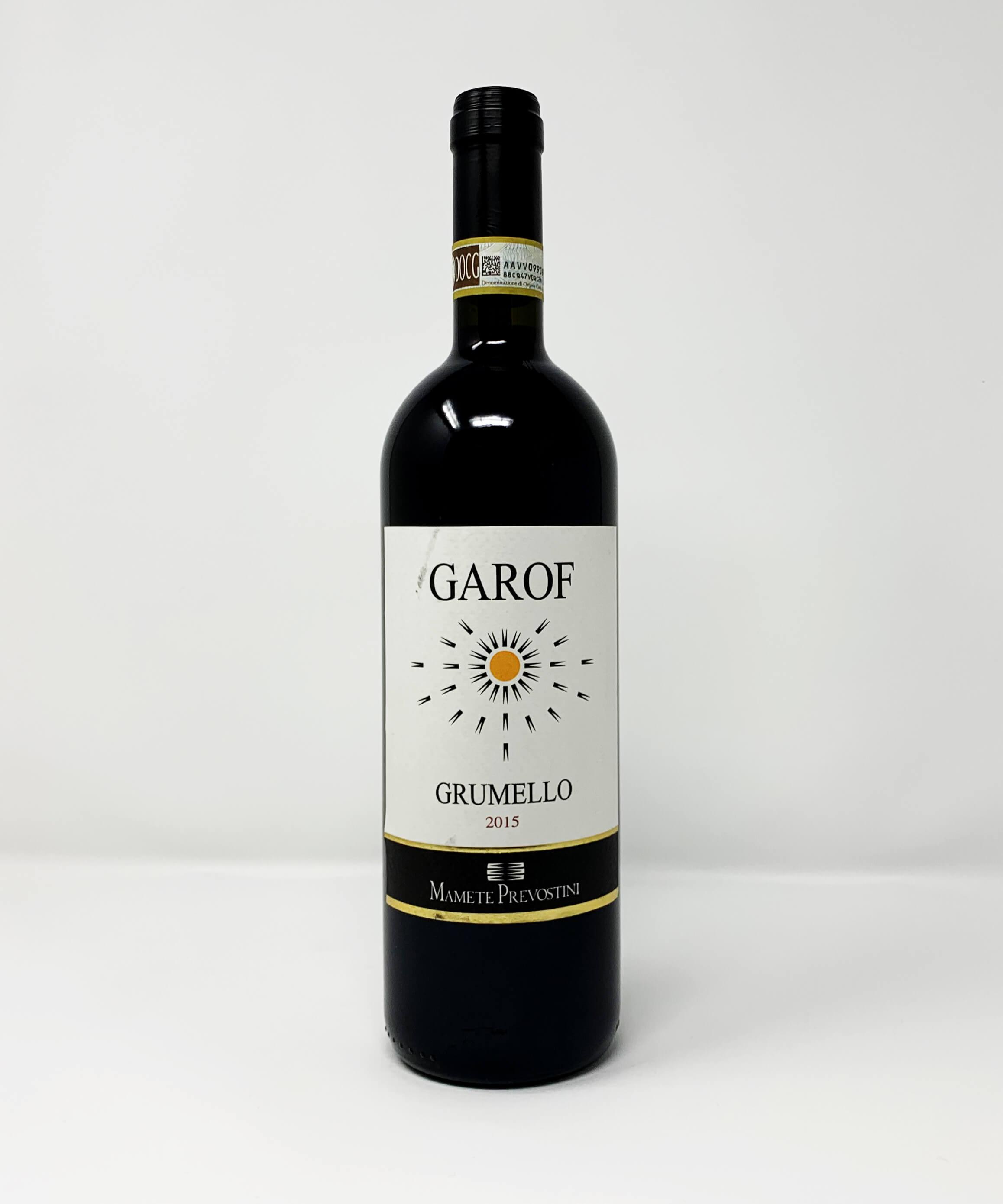Mamete Prevostini, Garof, Valtellina Superiore, DOCG
