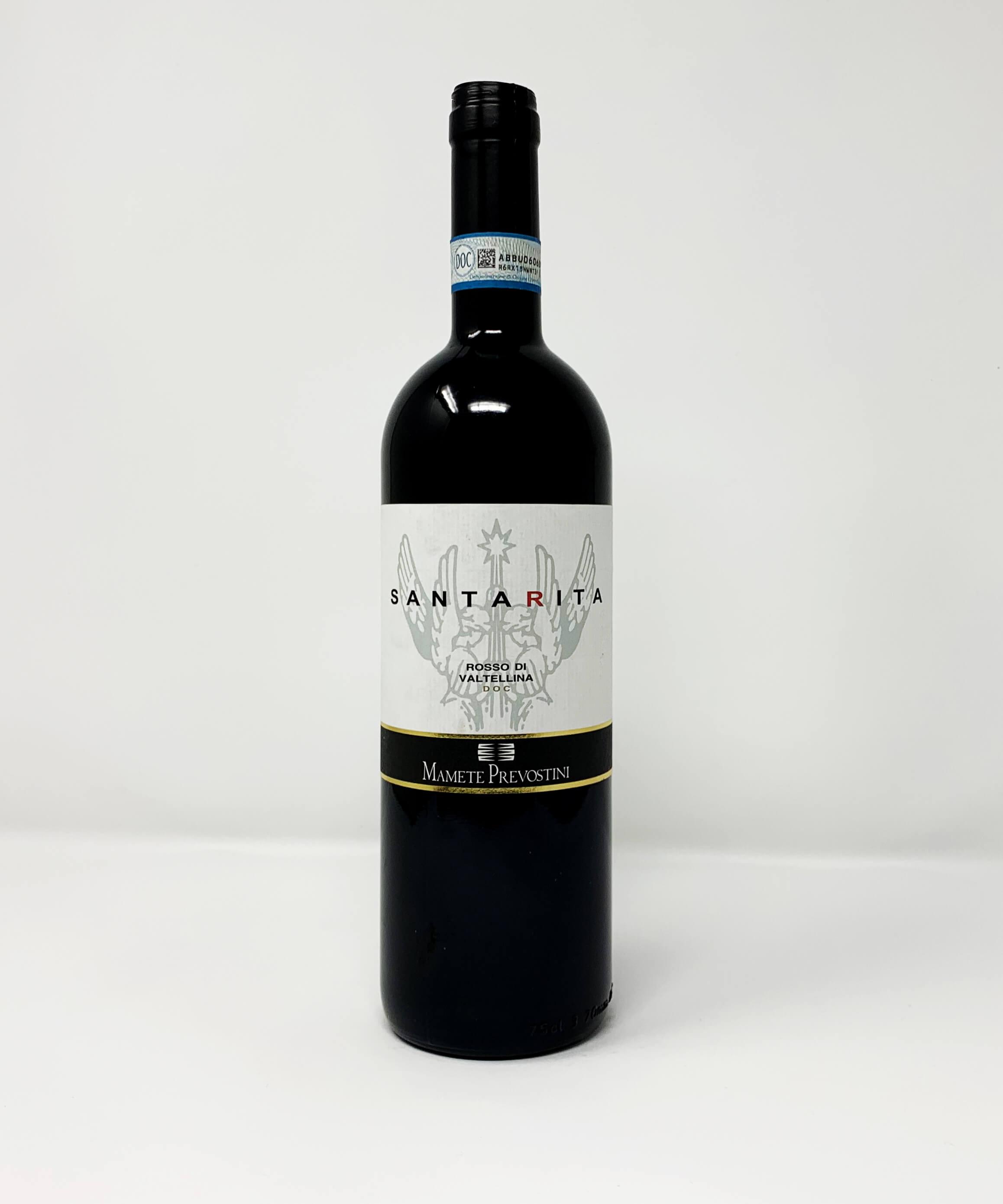 Mamete Prevostini, Santa Rita, Valtellina, Nebbiolo DOC