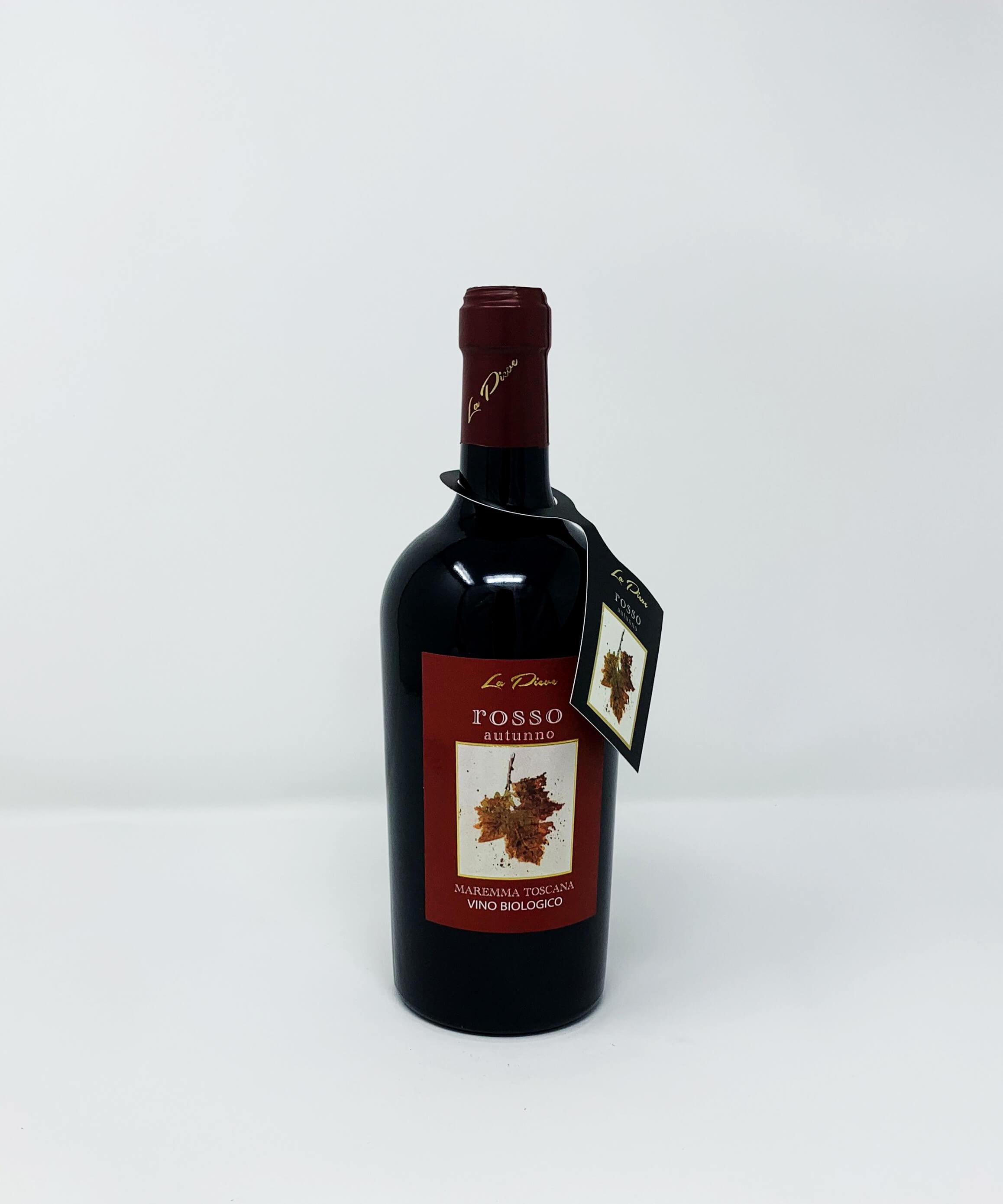 La Pieve Rosso Autunno, Vino Biologico